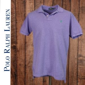 NWOT Lavender waffle knit Classic Fit Polo